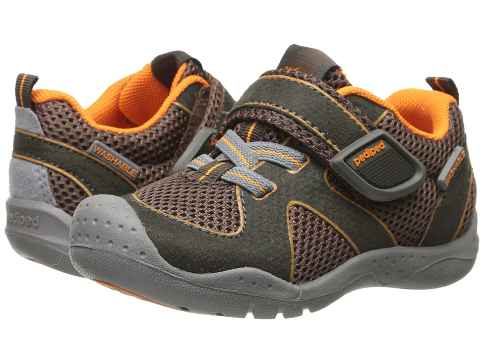 pediped - Rio Flex (Toddler/Little Kid) (Earth) Boys Shoes