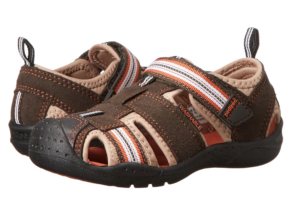 pediped - Sahara Flex (Toddler/Little Kid) (Earth) Boys Shoes