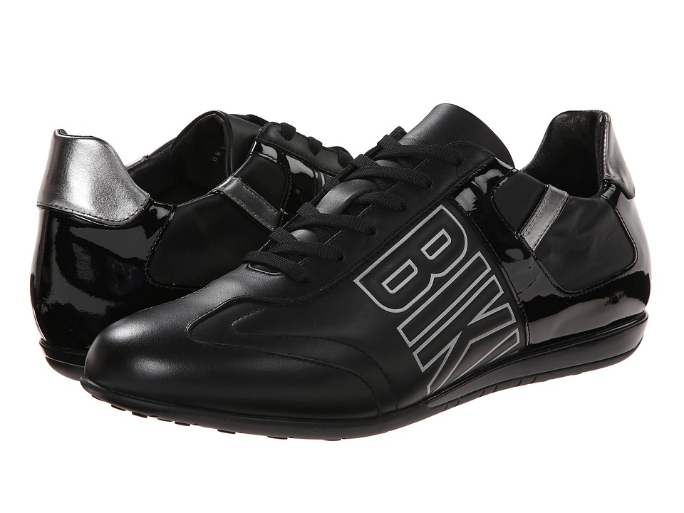 Bikkembergs - R-evolution 186 Low Sneaker (Black Patent) Men's Shoes