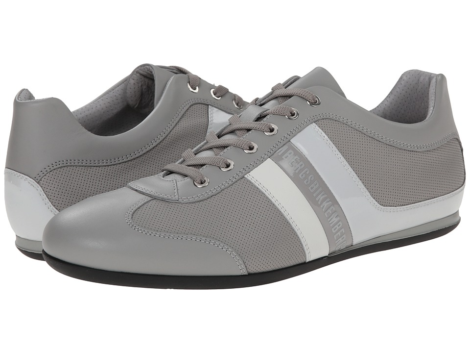 Bikkembergs - Springer 98 Low Sneaker (Grey/Ice) Men's Lace up casual Shoes