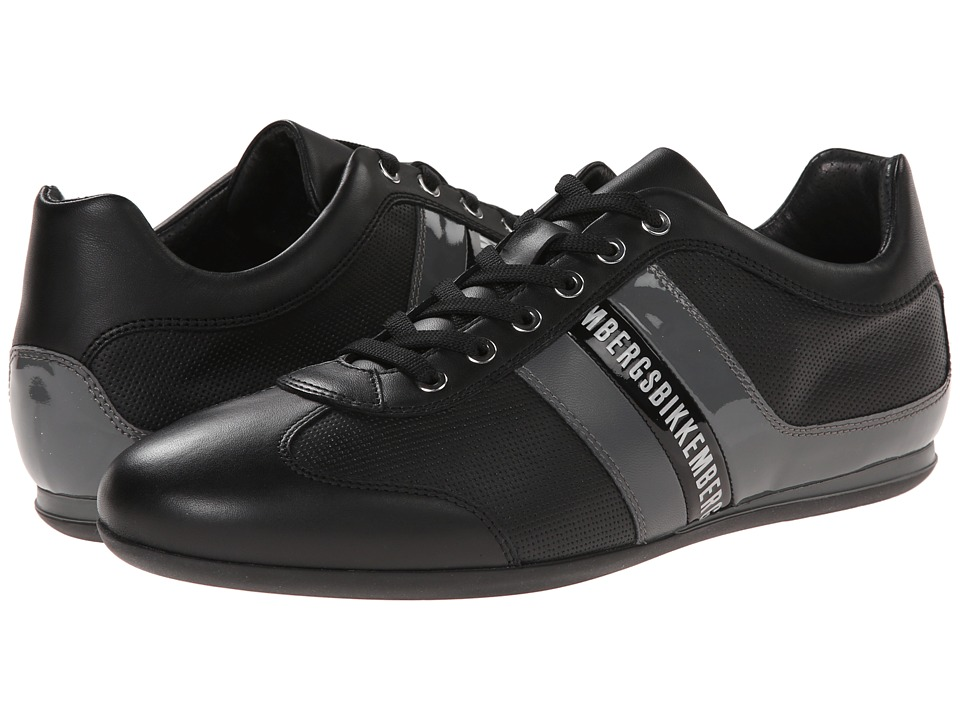 Bikkembergs - Springer 98 Low Sneaker (Black/Dark Grey) Men's Lace up casual Shoes