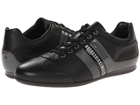 Bikkembergs - Springer 98 Low Sneaker (Black/Dark Grey) Men