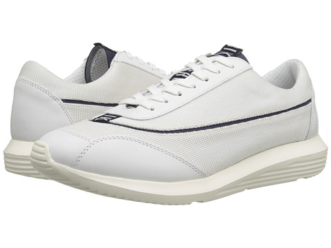 Bikkembergs - Speed 405 Low Sneaker (White/Bluette) Men's Shoes