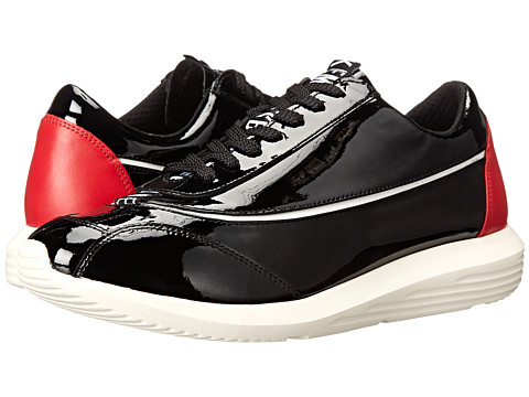 Bikkembergs - Speed 404 Low Sneaker (Black Patent) Men