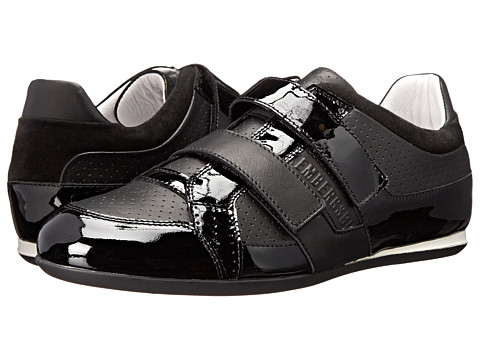 Bikkembergs - Springer 372 Low Sneaker (Black Patent) Men's Shoes