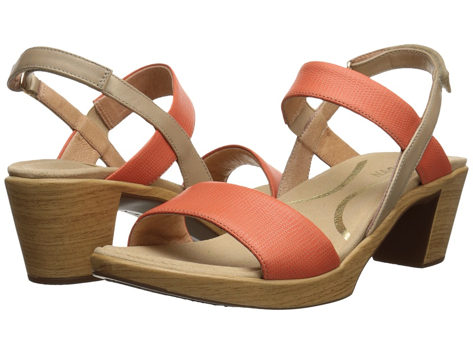 Naot Polite (Peach Leather/Champagne Leather) Women