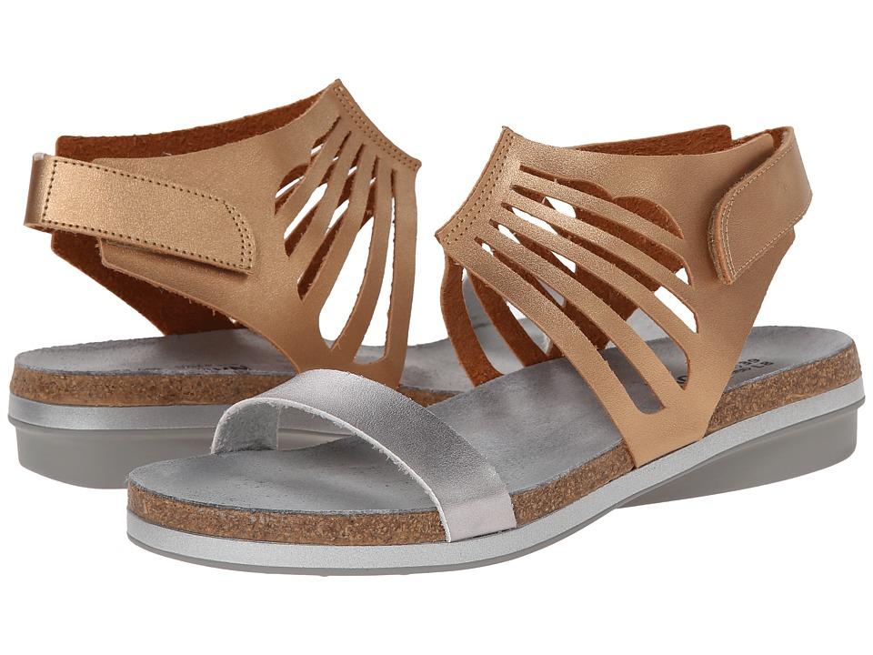 Naot Footwear - Mint (Shiny Gold/Shiny Silver) Women's Shoes