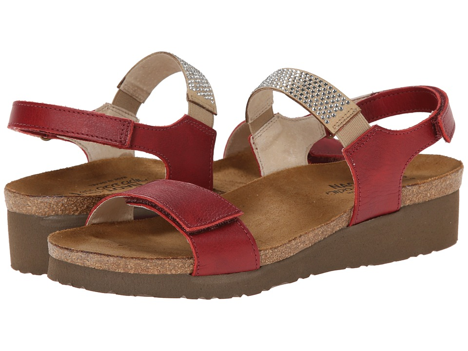 Naot Footwear - Lisa (Berry Leather) Women's Shoes
