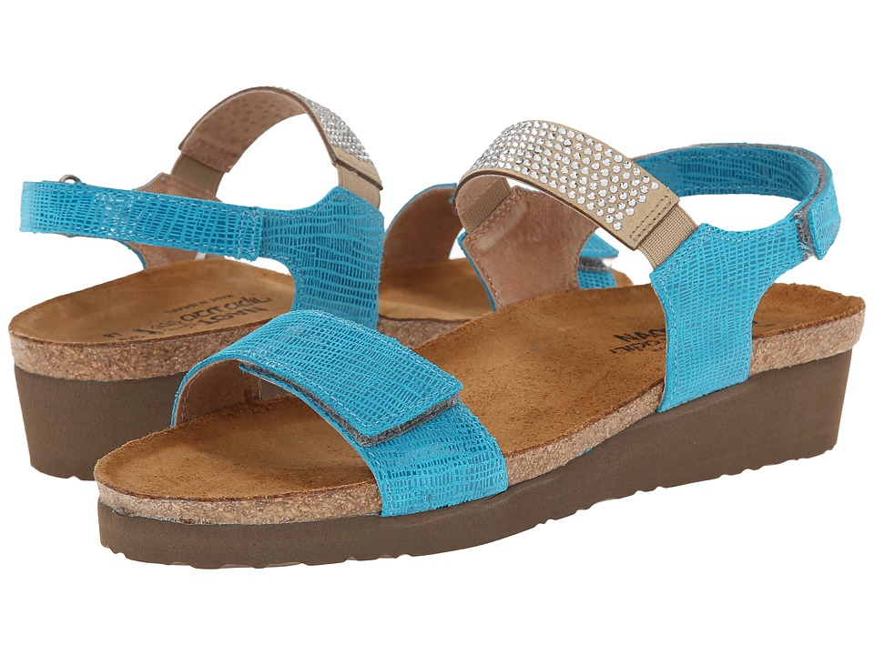 Naot Footwear Lisa (Aquamarine Leather) Women