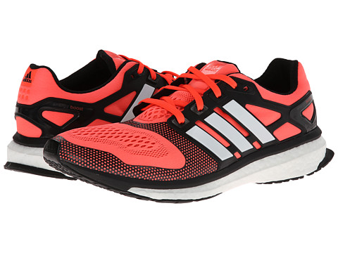 adidas Running - Energy Boost 2.0 ESM (Solar Red/White/Black) Men's Running Shoes