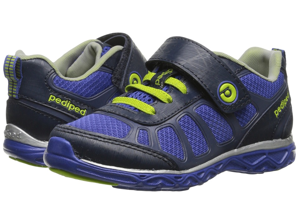 pediped - Scout HL Flex (Toddler/Little Kid) (Navy/Surfer Blue) Boy's Shoes