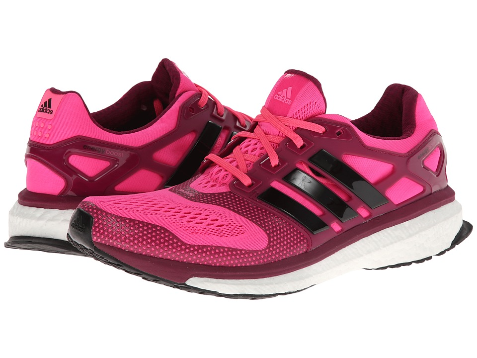 adidas Running - Energy Boost 2.0 ESM (Solar Pink/Black/Black) Women's Running Shoes