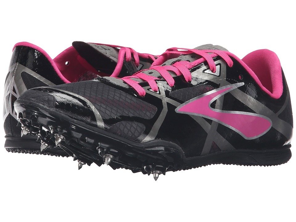Brooks - PR MD 3 (Black/Pink Glo/Anthracite) Women's Running Shoes