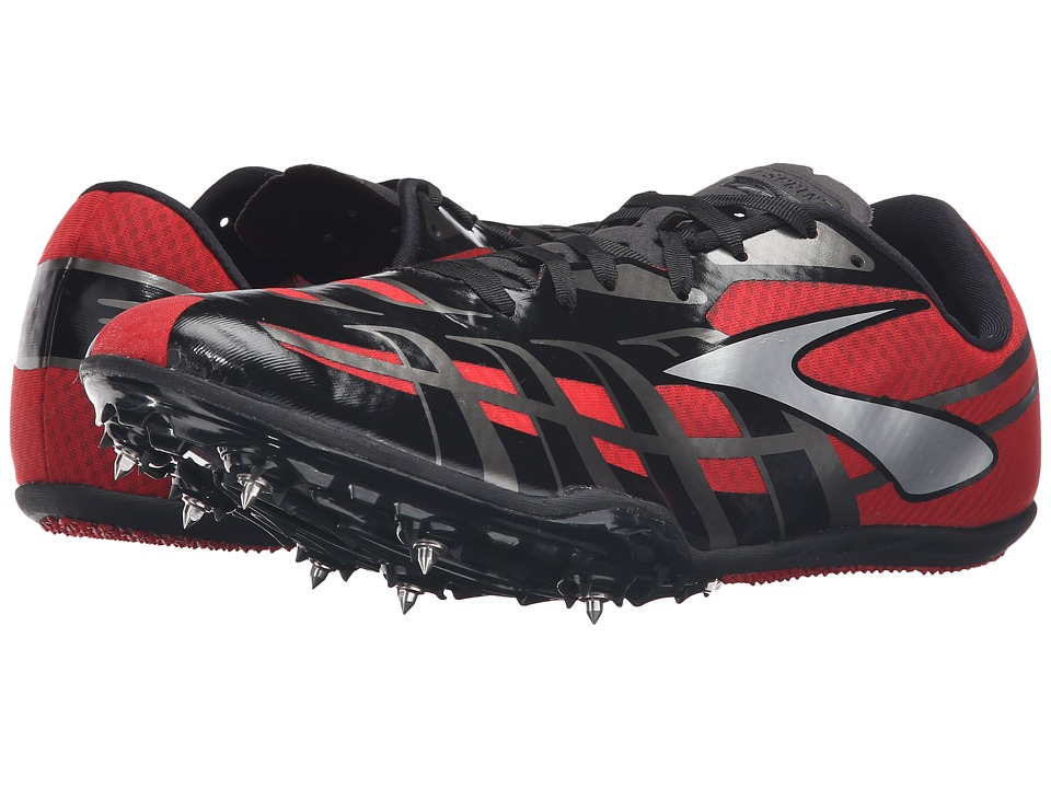Brooks PR Sprint 3 (High Risk Red/Black/Silver) Men
