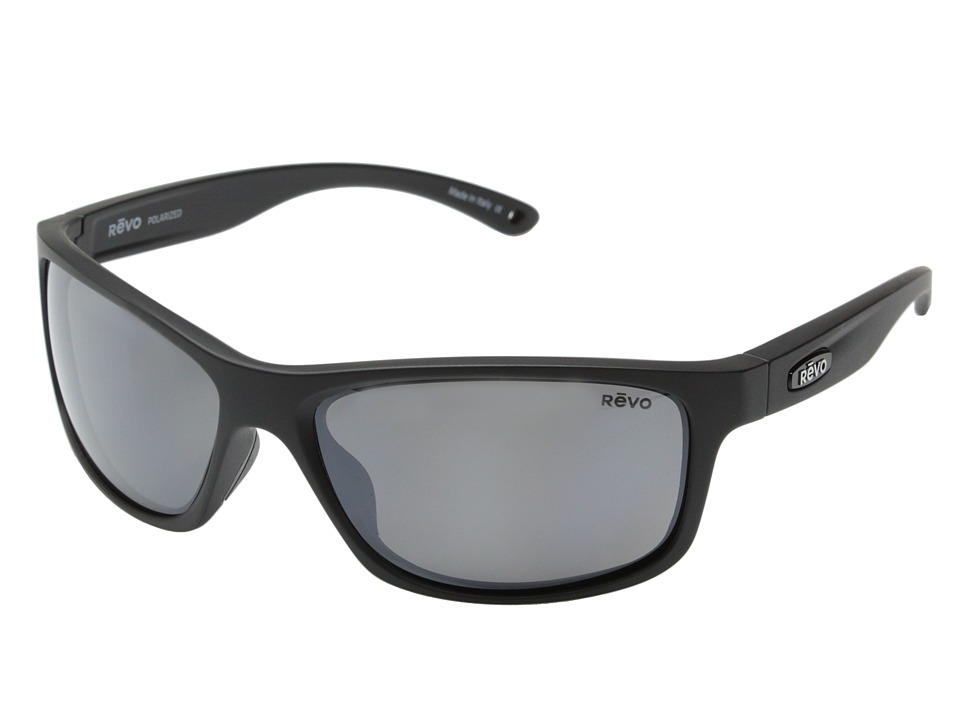 Revo - Harness (Matte Black/Graphite) Sport Sunglasses
