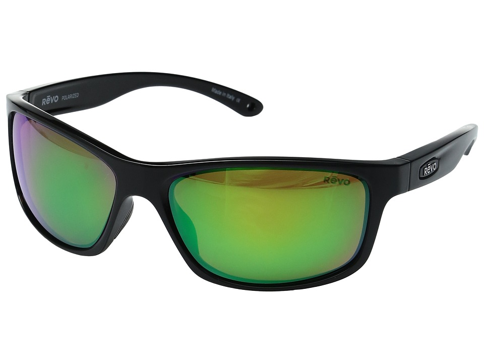 Revo - Harness (Black/Green Water) Sport Sunglasses