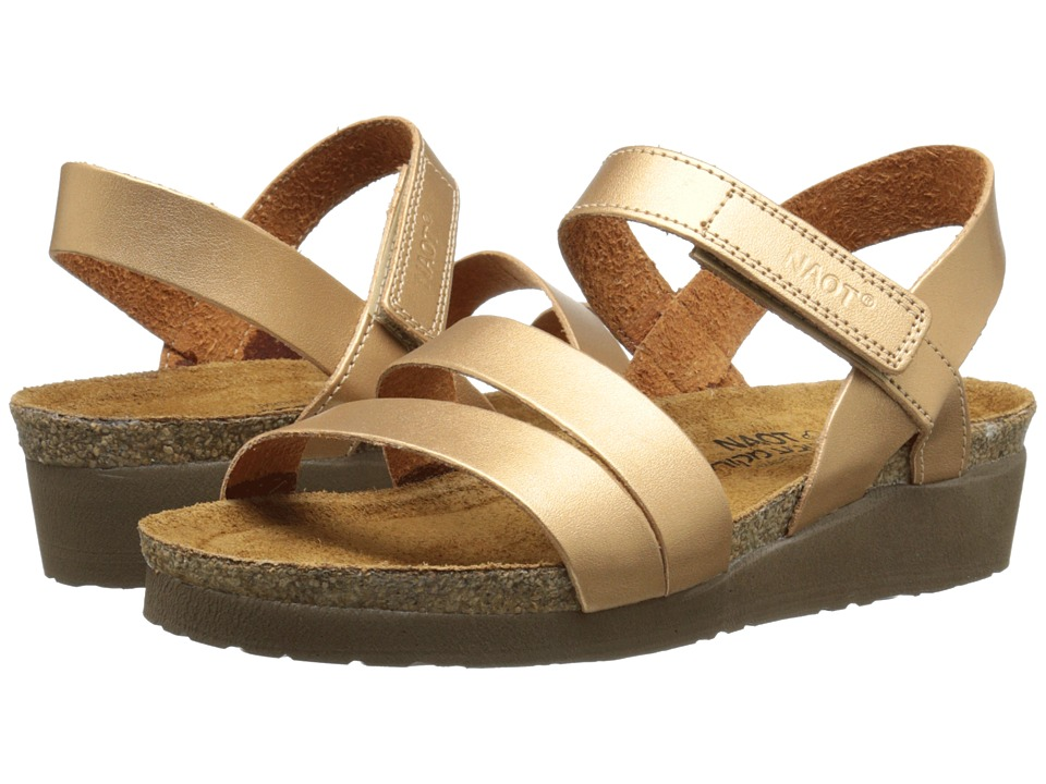 Naot Footwear - Kayla (Shiny Gold) Women's Sandals
