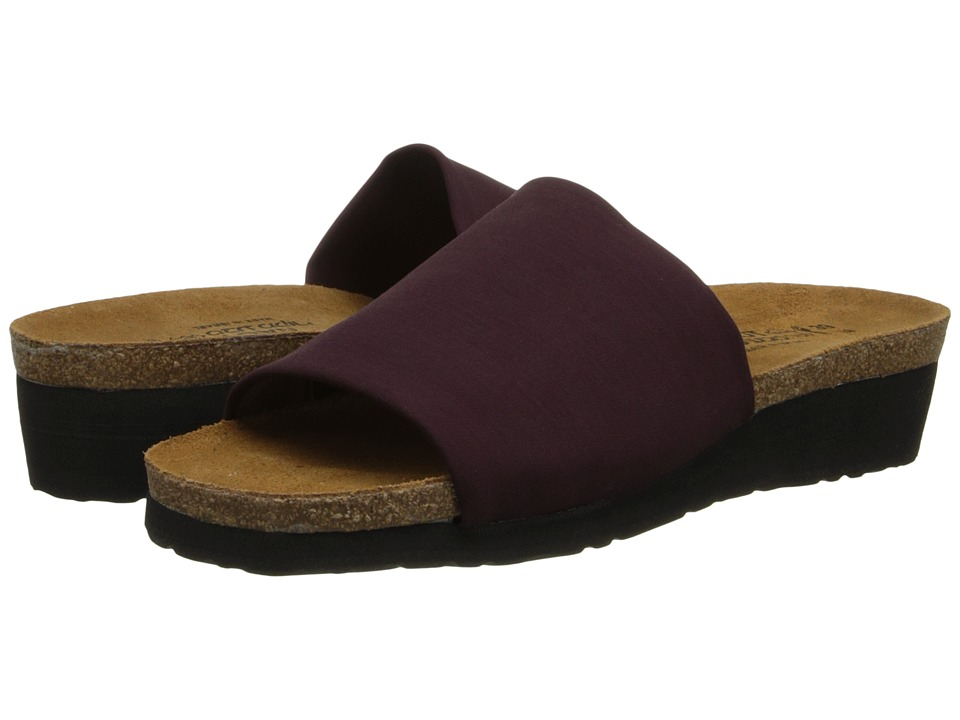 Naot Footwear - Alana (Plum Stretch) Women's Sandals