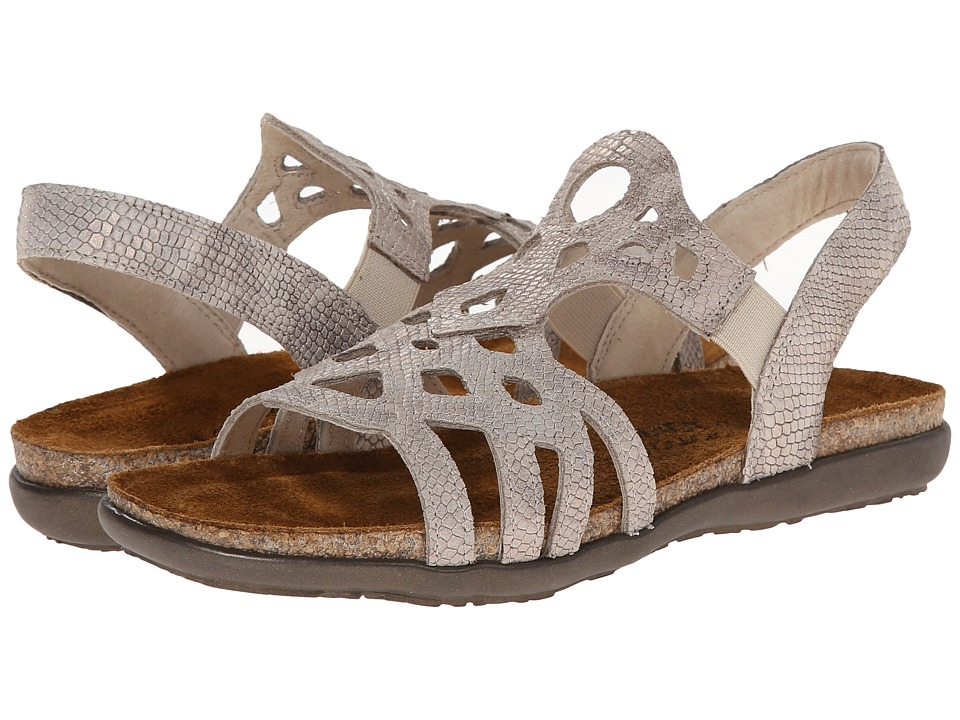 Naot Footwear - Rebecca (Beige Snake Leather) Women's Shoes