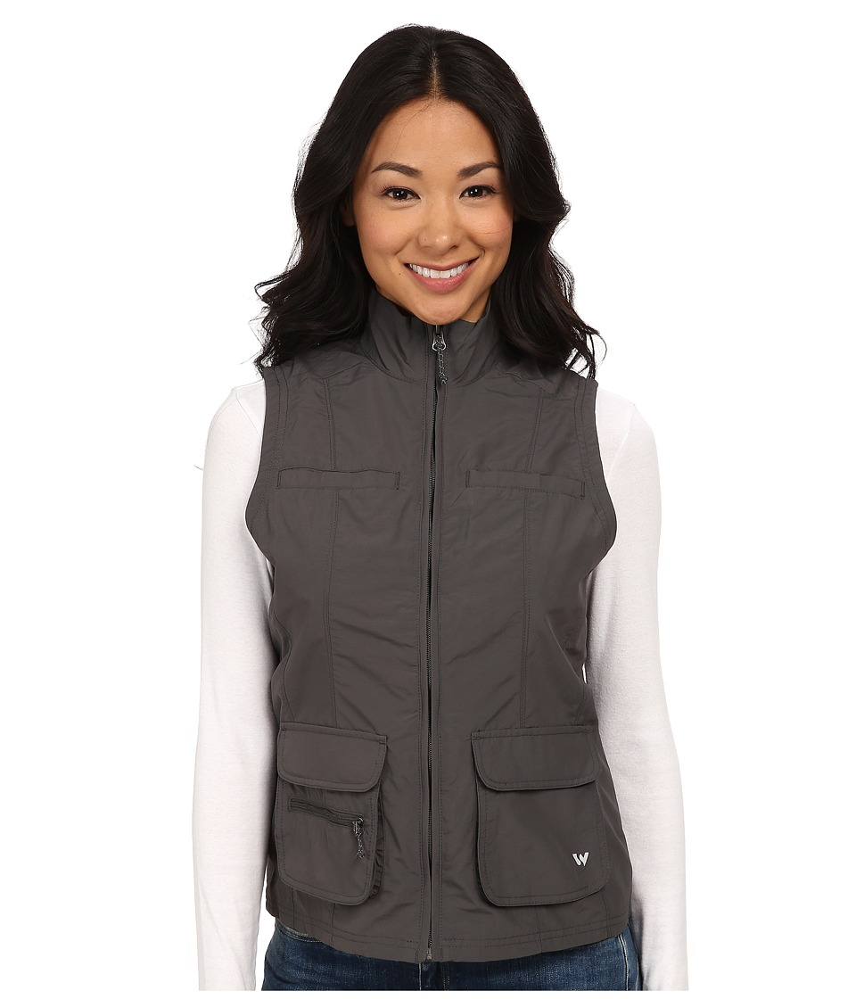 White Sierra - Sierra Point Traveler's Vest (Caviar) Women's Vest