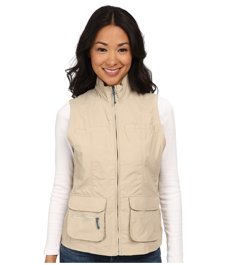 White Sierra - Sierra Point Traveler's Vest (Stone) Women's Vest