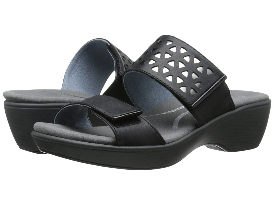 Naot Footwear - Moreto (Jet Black Leather/Glass Silver/Black Patent Leather) Women's Shoes