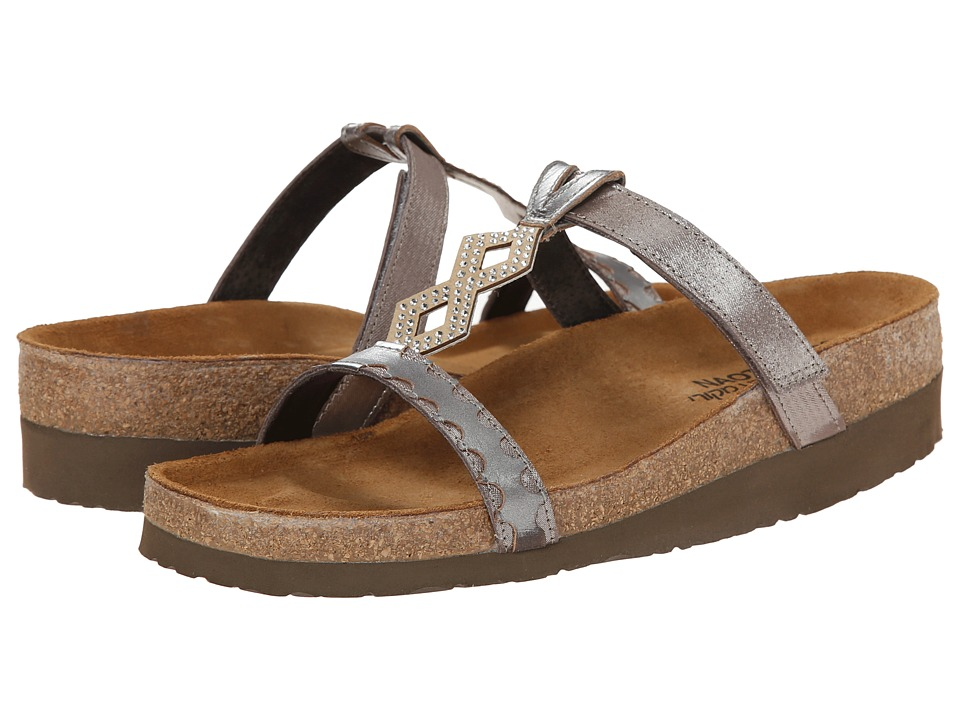 Naot Aspen (Silver Threads Leather/Mirror Leather) Women