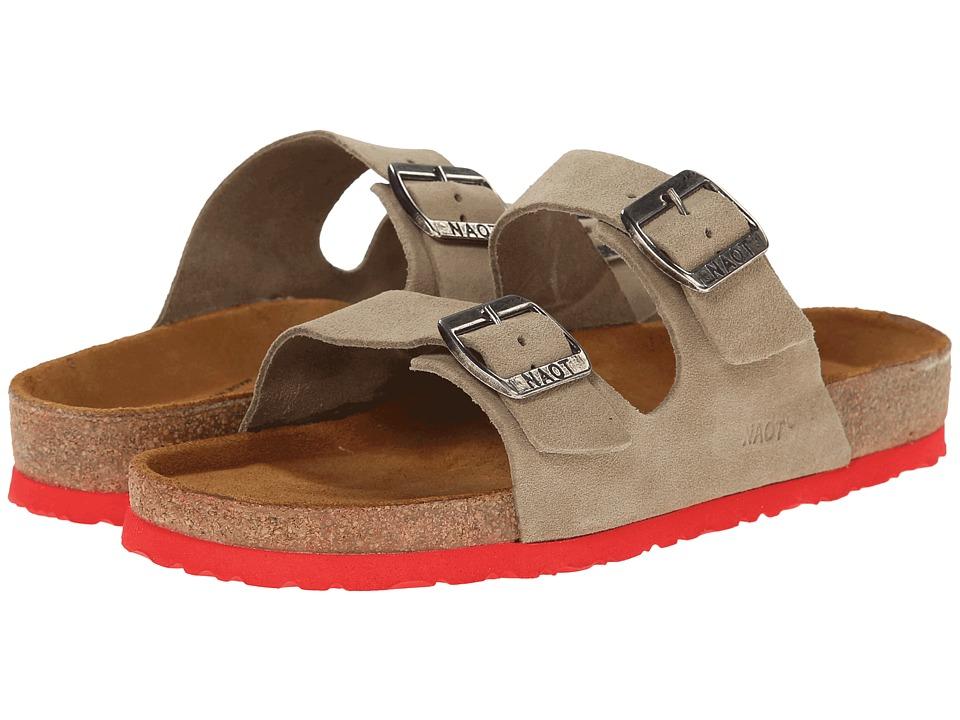 Naot Footwear - Santa Barbara (Sand Suede) Women's Sandals