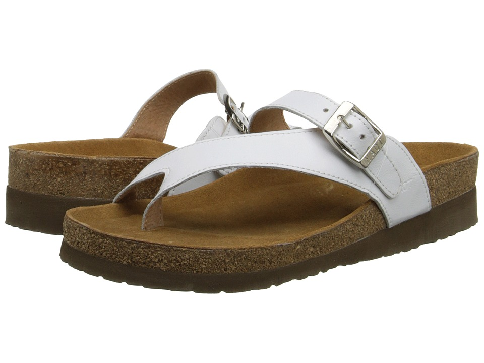 Naot Footwear - Tahoe (White Leather) Women's Sandals