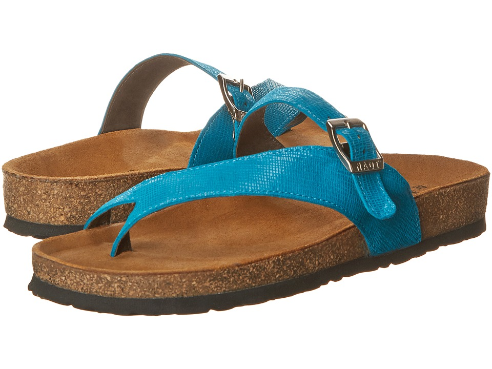 Naot Footwear - Tahoe (Aquamarine Leather) Women's Sandals