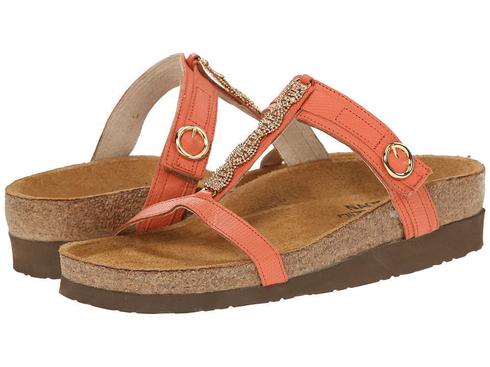 Naot Footwear Malibu (Peach Leather) Women