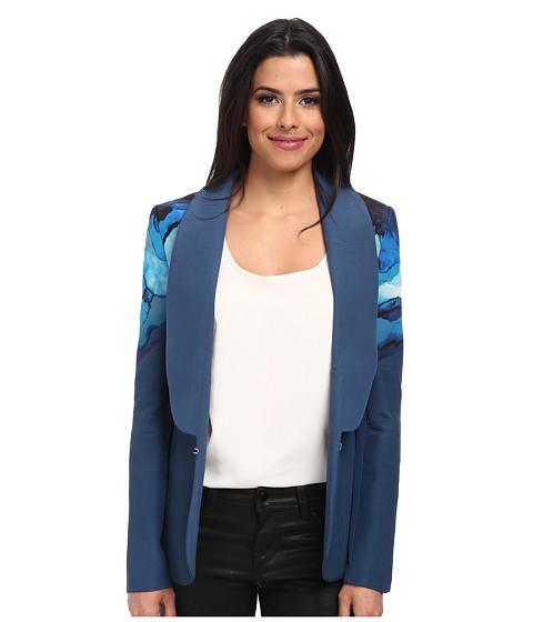 StyleStalker - Opal Blazer (Teal) Women's Jacket