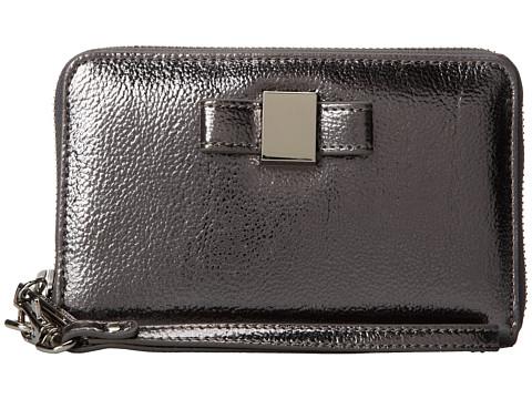 Ivanka Trump - Blair Smartphone Wristlet (Pewter Metallic) Wristlet Handbags