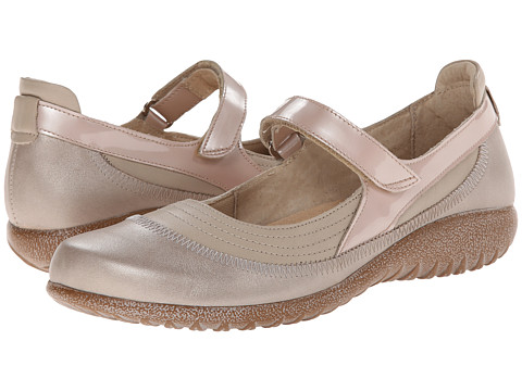 Naot Footwear - Kirei (Linen Leather/Stardust Leather/Satin Beige Leather) Women