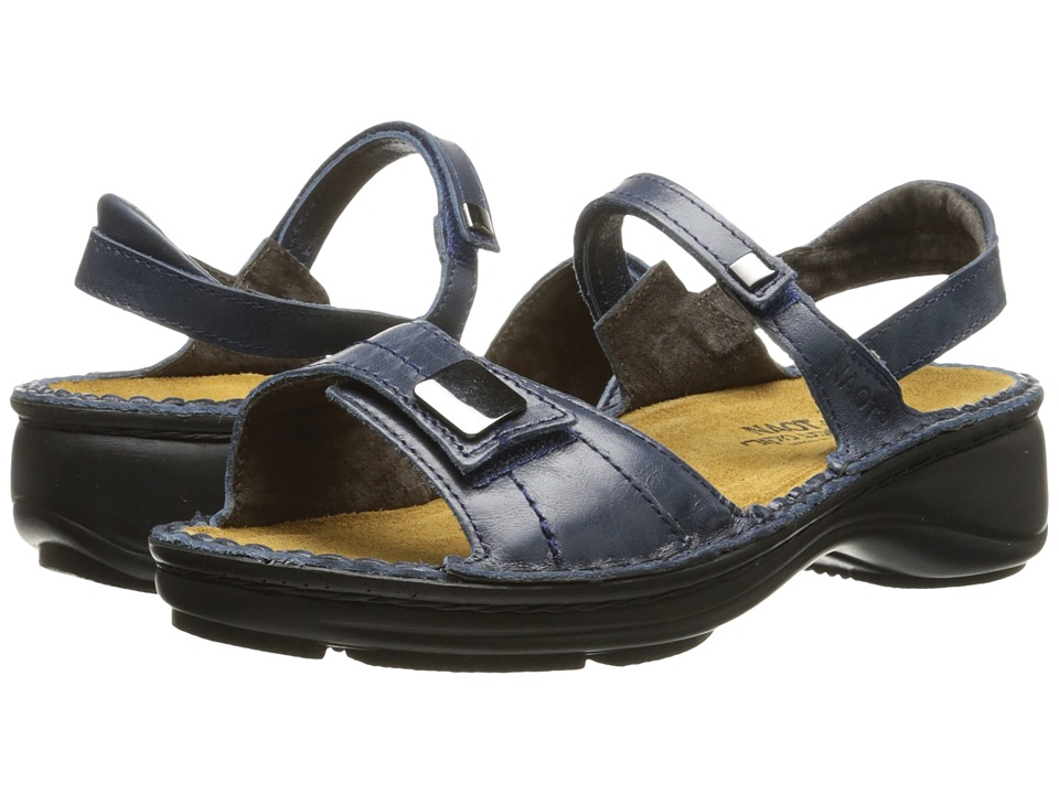 Naot Footwear - Papaya (Ink Leather) Women's Sandals