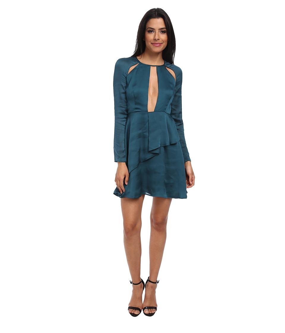 StyleStalker - Candyman Dress (Teal) Women's Dress
