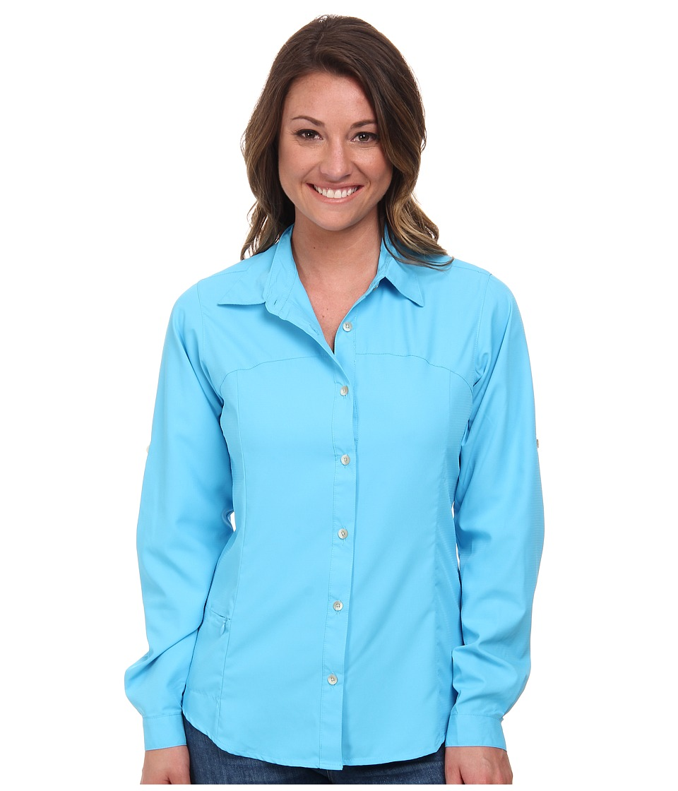 White Sierra - Gobi Desert Long Sleeve Shirt (Sail Blue) Women