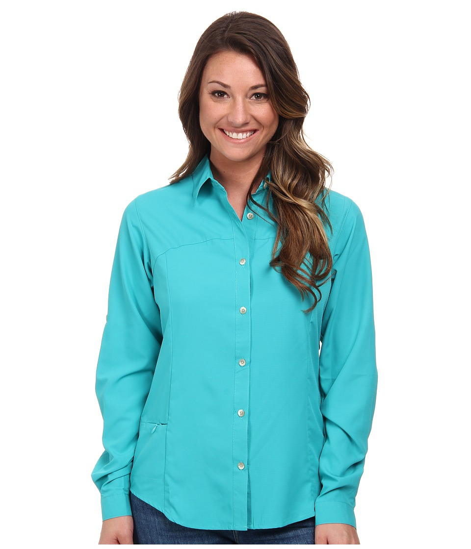 White Sierra - Gobi Desert Long Sleeve Shirt (Vivid Green) Women