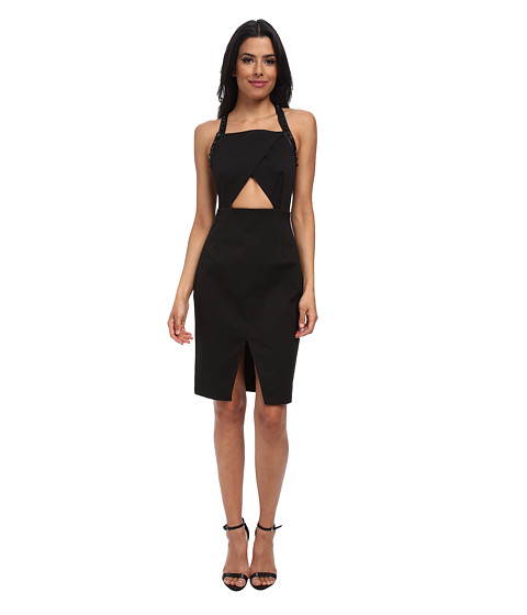 StyleStalker - Bands in Town Dress (Black) Women's Dress