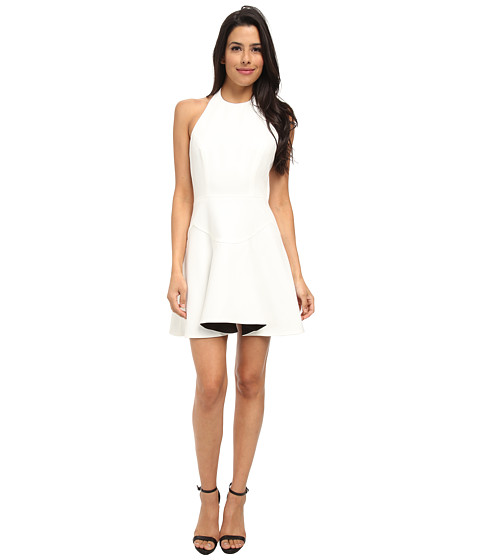 StyleStalker - Terra Firma Dress (Black/White) Women's Dress