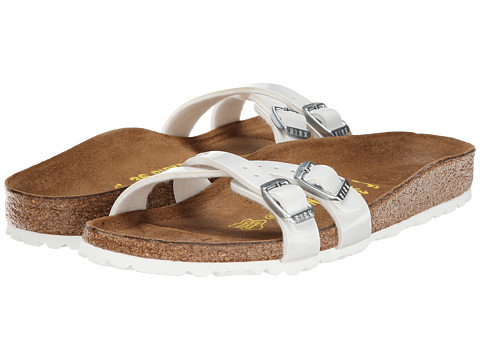 Birkenstock - Almere (Pearly White Birko-Flor ) Sandals
