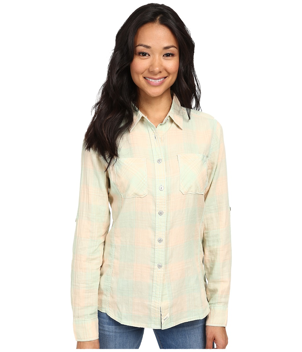 Woolrich - Conundrum L/S Shirt (Fresh Mint) Women's Long Sleeve Button Up