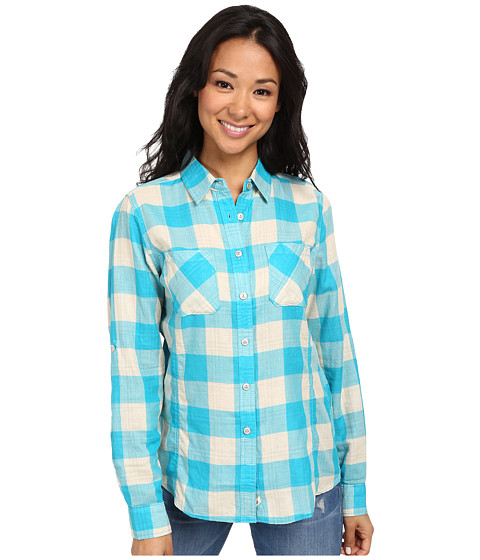 Woolrich - Conundrum L/S Shirt (Parrot) Women's Long Sleeve Button Up