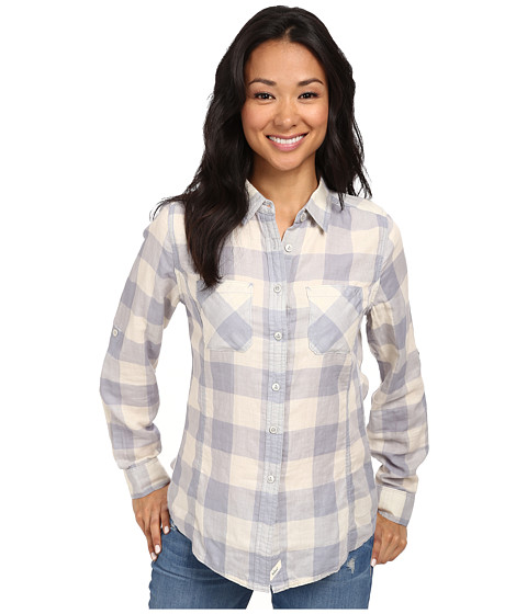 Woolrich - Conundrum L/S Shirt (Quartz) Women's Long Sleeve Button Up