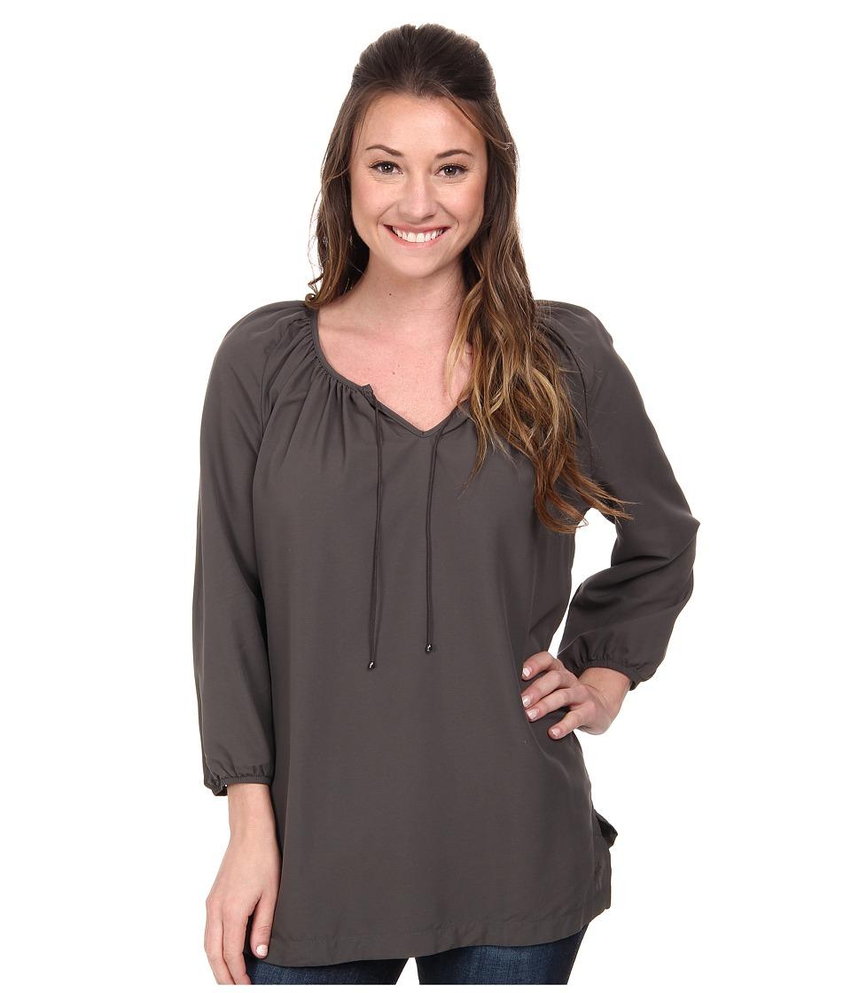 Woolrich - Hopewell Tunic (Slate) Women's Blouse