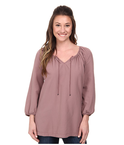 Woolrich - Hopewell Tunic (Mulberry) Women's Blouse