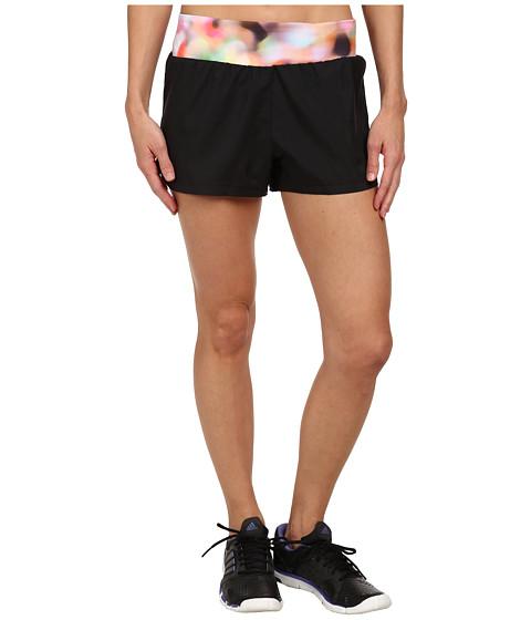 adidas - Mia 3 Woven Short - Festival Print (Black/Multicolor) Women