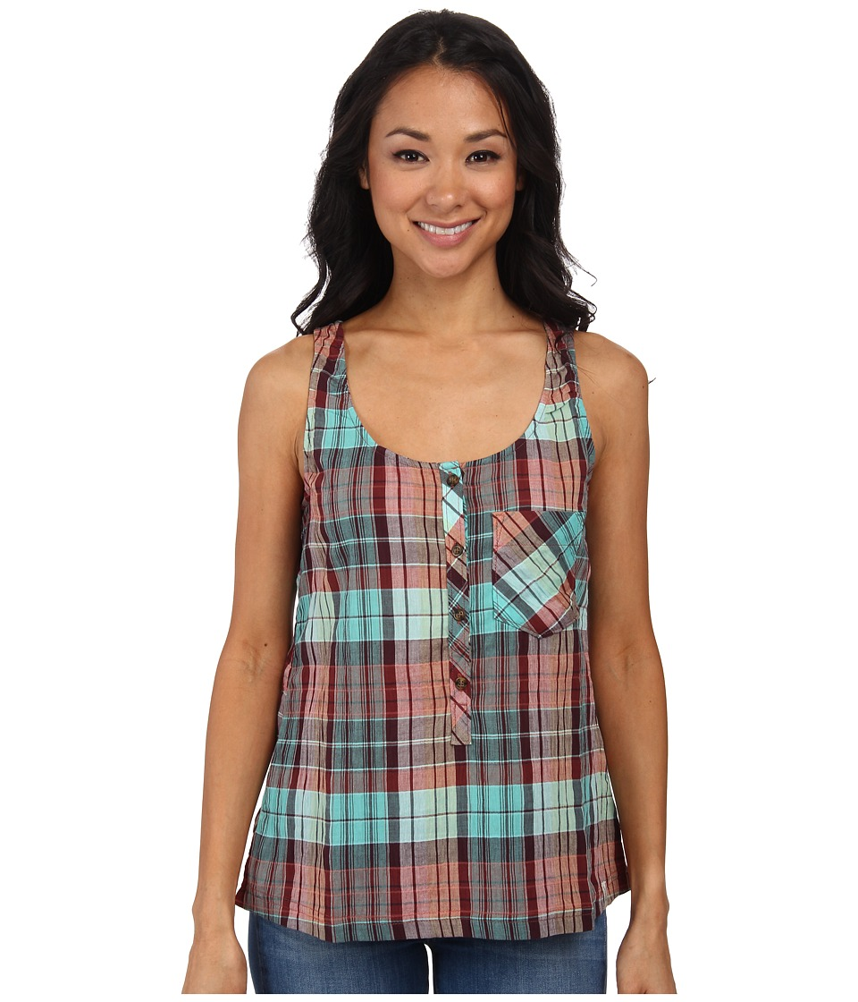Woolrich - Spring Fever Tank (Waterfall) Women's Sleeveless