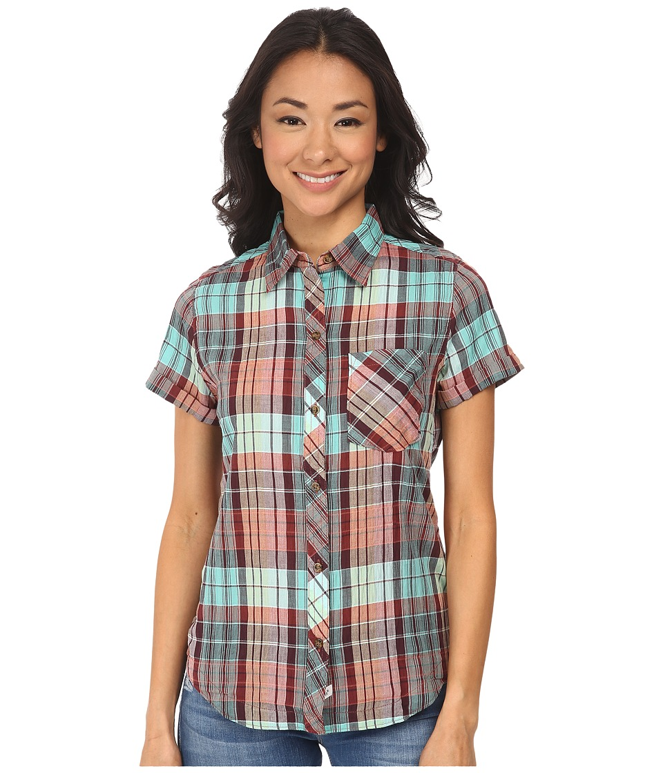 Woolrich - Spring Fever S/S Shirt (Waterfall) Women
