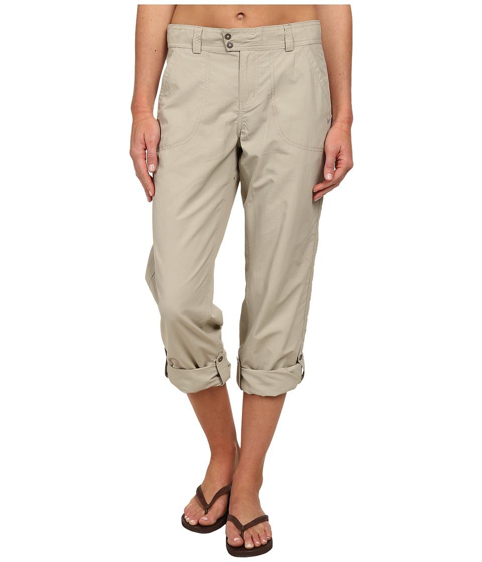 White Sierra - Sierra Point Roll Up Pant (Stone) Women's Casual Pants